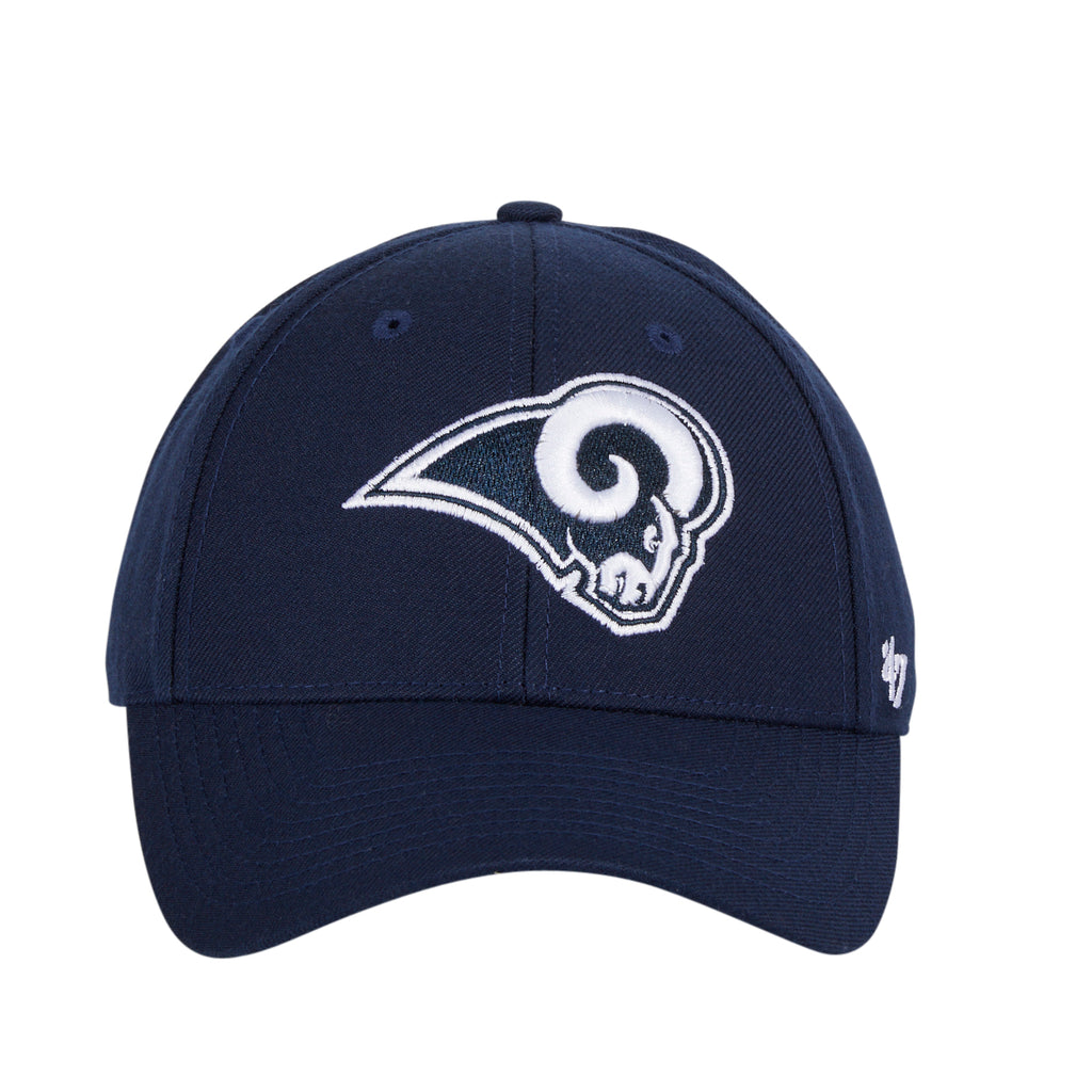 47 Brand Los Angeles Rams MVP Velcro Hat - Navy