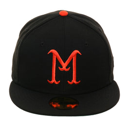Exclusive New Era 59Fifty Minneapolis Millers Hat - Black, Orange