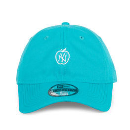 Exclusive New Era 9twenty New York Yankees Apple Adjustable Hat - Teal