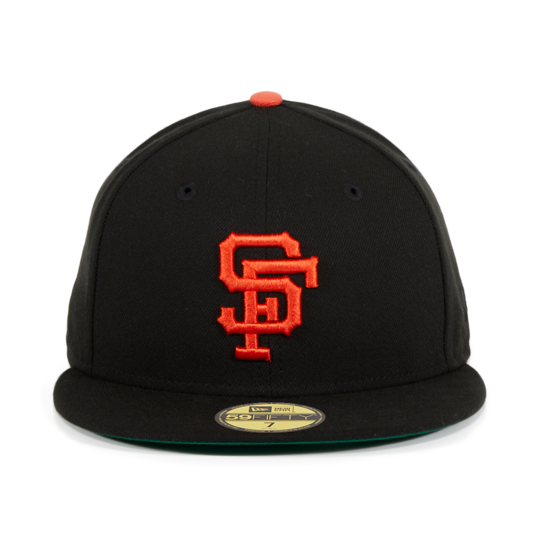 new styles ad371 52235 ... best exclusive new era 59fifty san francisco giants 1958 game hat black  orange c9cc7 10e12