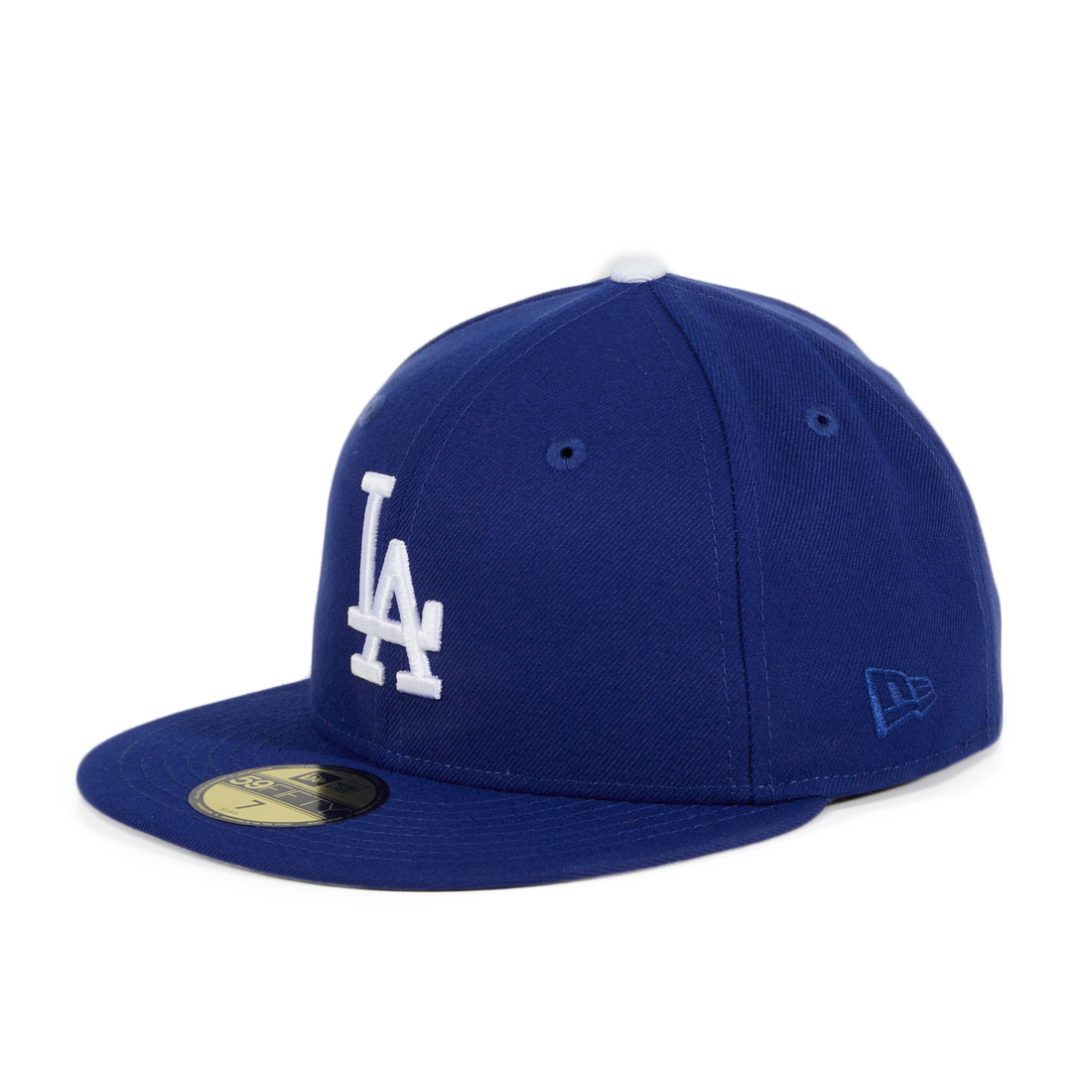 Exclusive New Era 59Fifty Los Angeles Dodgers 50th Anniversary Patch Hat - Royal