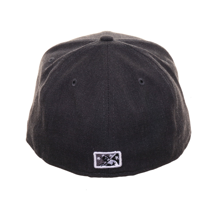 Exclusive 59fifty New Era San Jose Giants Hat - Graphite Heather, Black