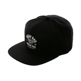 Fasthouse Mixin Gas Snapback Hat - Black