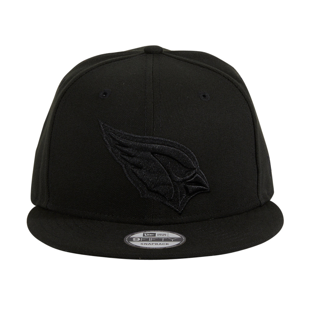 New Era 9fifty Arizona Cardinals Snapback Hat - Black, Black