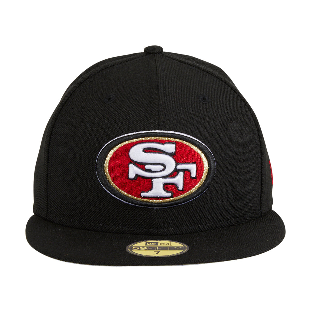 New Era 59Fifty San Francisco 49ers Hat- Black