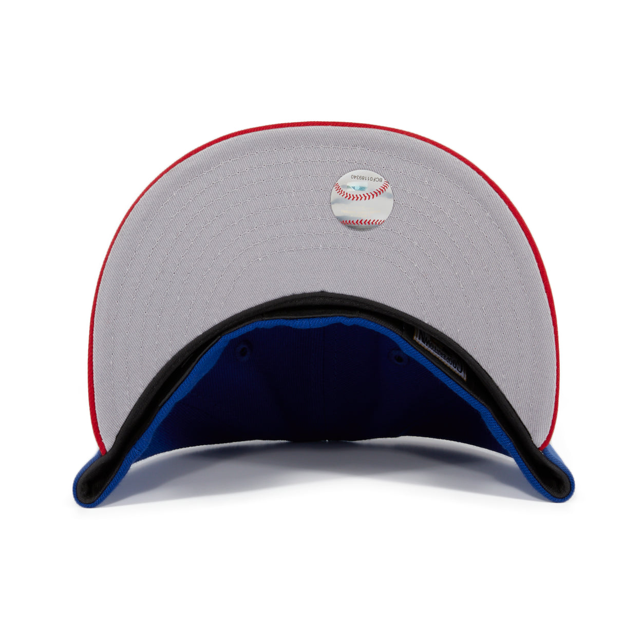 Exclusive New Era 59Fifty Toronto Blue Jays 2003 Hat - 2T Royal, Red
