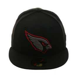 Exclusive New Era 59Fifty Arizona Cardinals Hat - Black, Graphite Grey, Red