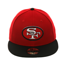 Exclusive New Era 59Fifty San Francisco 49ers 1968 Hat - 2T Red, Black