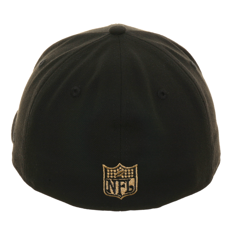 Exclusive New Era 59Fifty New Orleans Saints 1967 Hat - Black