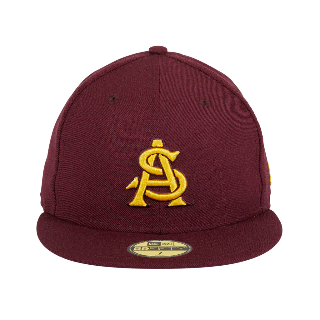 New Era 59Fifty ASU AS Hat - Maroon, Gold