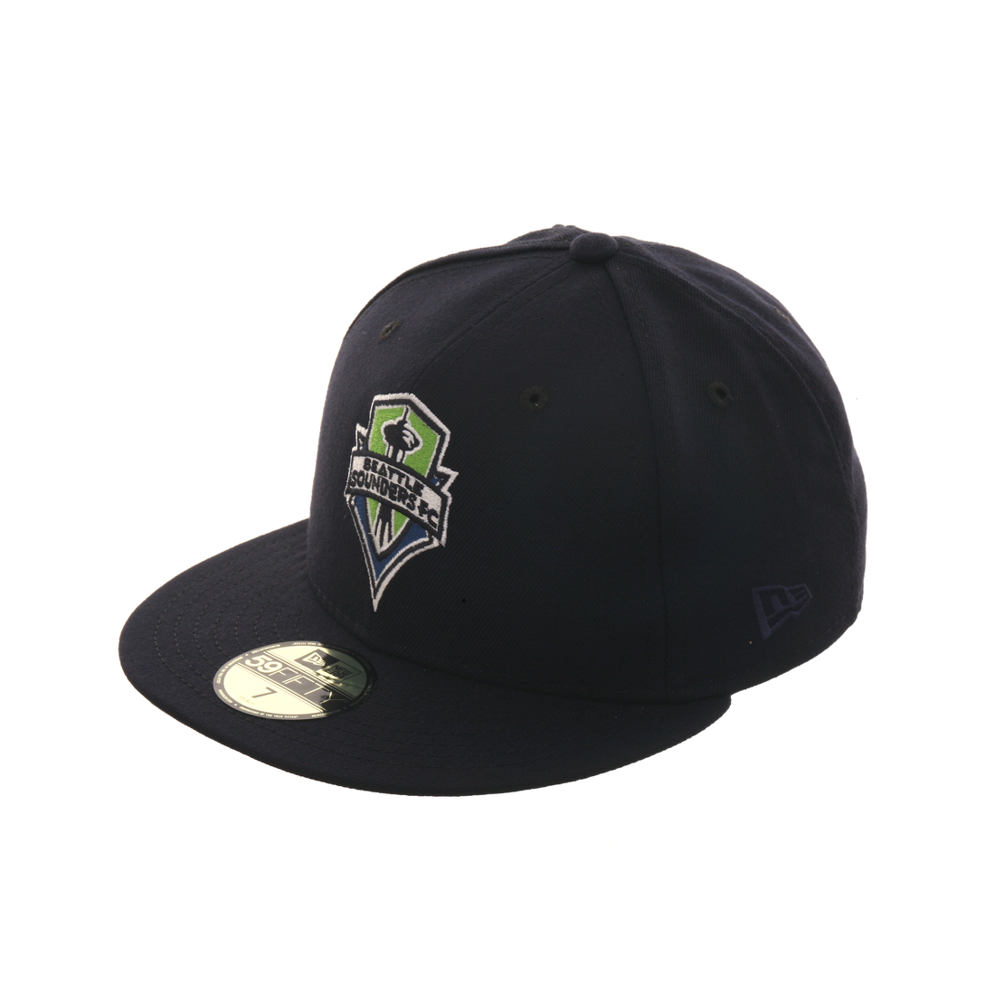 Exclusive New Era 59Fifty Seattle Sounders OTC Hat - Navy