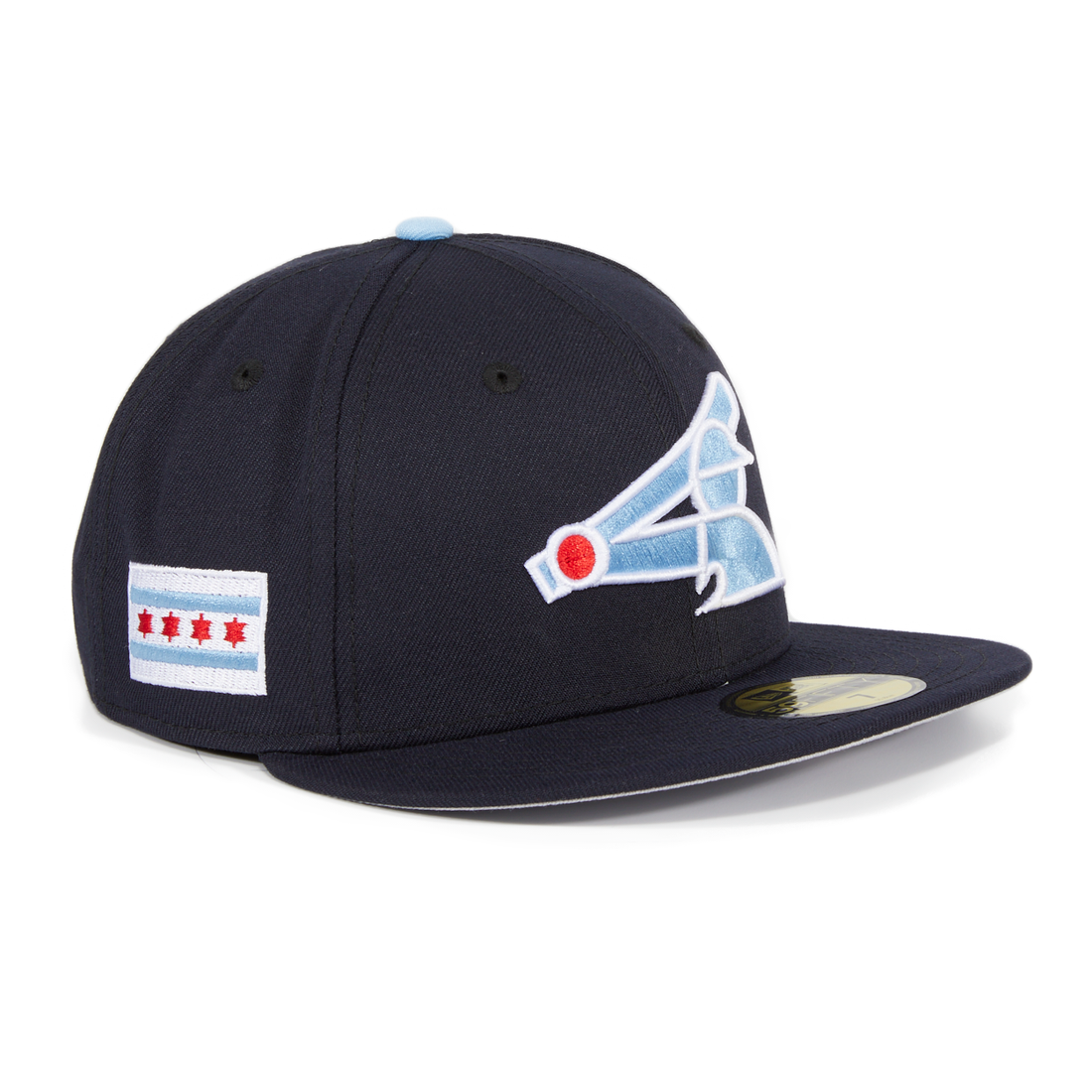 online store f2925 5fcfc ... promo code for exclusive new era 59fifty chicago white sox city flag  patch hat navy 8803c