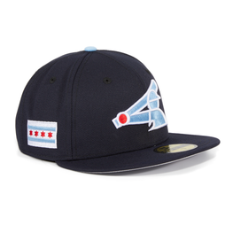Exclusive New Era 59Fifty Chicago White Sox City Flag Patch Hat - Navy ddd3dae369dd