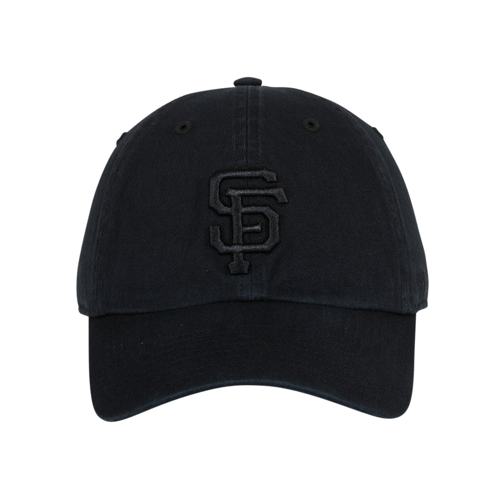 47 Brand Cleanup San Francisco Giants Adjustable Hat - Black, Black, Black