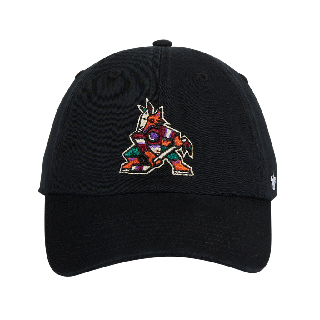 47 Clean Up Arizona Coyotes Adjustable Hat - Black