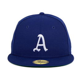 Exclusive New Era 59Fifty Philadelphia Athletics Hat - Royal