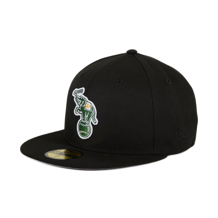 5767419a4 ... discount code for exclusive new era 59fifty oakland athletics alternate hat  black f9ec6 f86d2