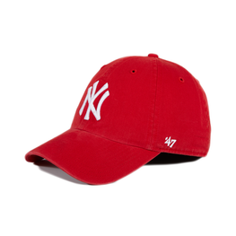 47 Brand Cleanup New York Yankees Adjustable Hat - Red, White