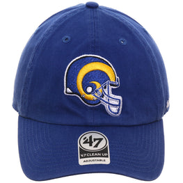 47 Brand Cleanup Los Angeles Rams 1950 Adjustable Hat - Royal
