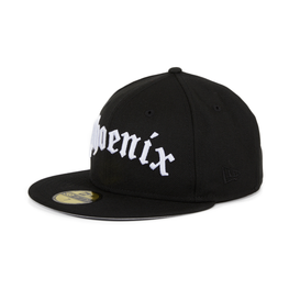 New Era 59Fifty Phoenix Suns Old English Hat - Black