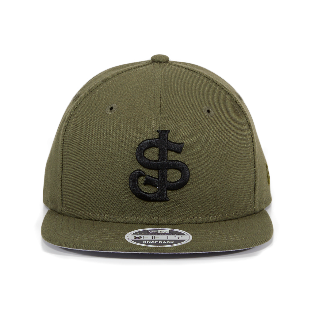Exclusive New Era 9Fifty San Jose Giants Hat - Olive, Black