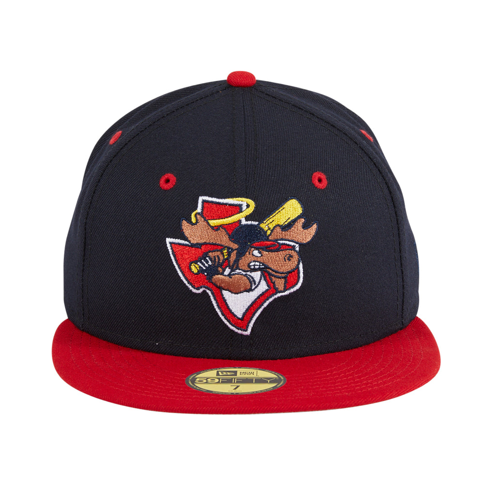 Exclusive New Era 59Fifty Midland Angels Moose Hat -  Navy, Red
