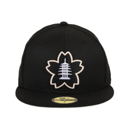 Exclusive New Era 59Fifty Thrill Japantown Sakura Fitted Hat - Black