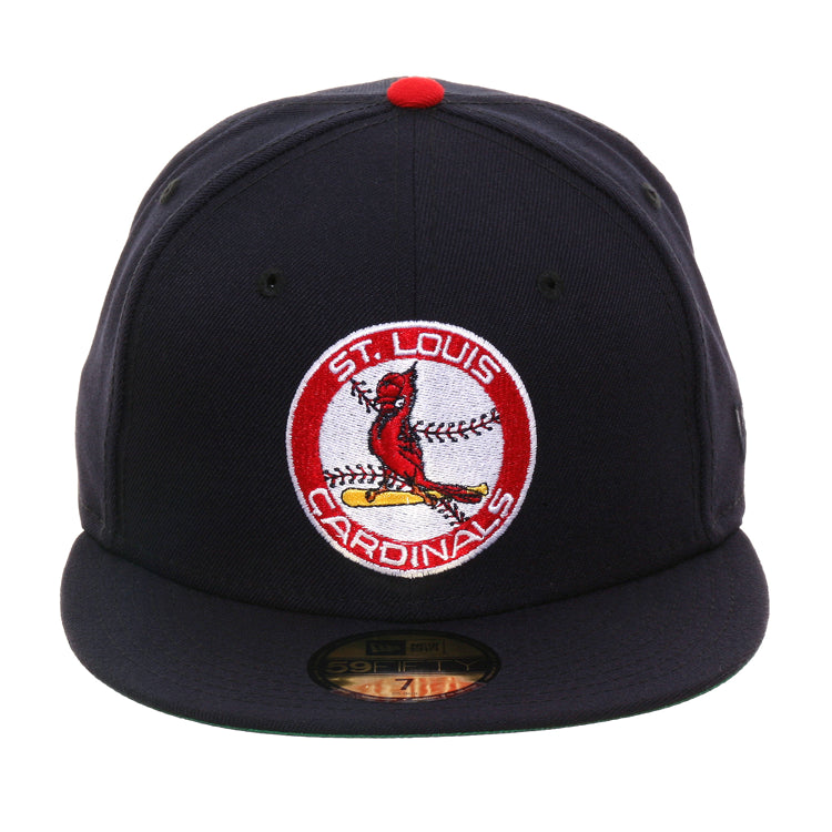 Exclusive New Era 59Fifty St Louis Cardinals 1966 Logo Hat - Navy