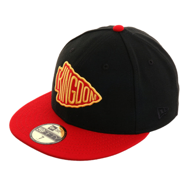 Exclusive New Era 59Fifty Kansas City Chiefs Kingdom Fitted Hat - 2T Black, Red