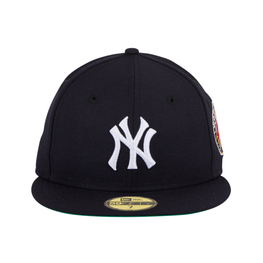 New Era 59Fifty New York Yankees 1949 World Series Patch Game Hat - Navy