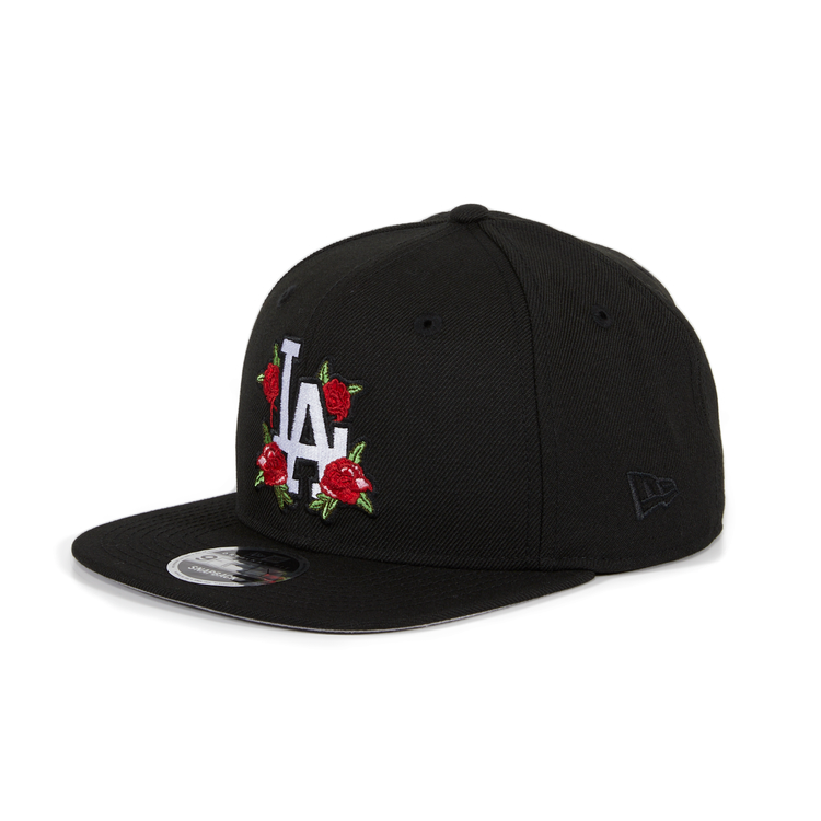 a0db4997357 Exclusive New Era 9fifty Los Angeles Dodgers Rose Floral Snapback Hat – Hat  Club