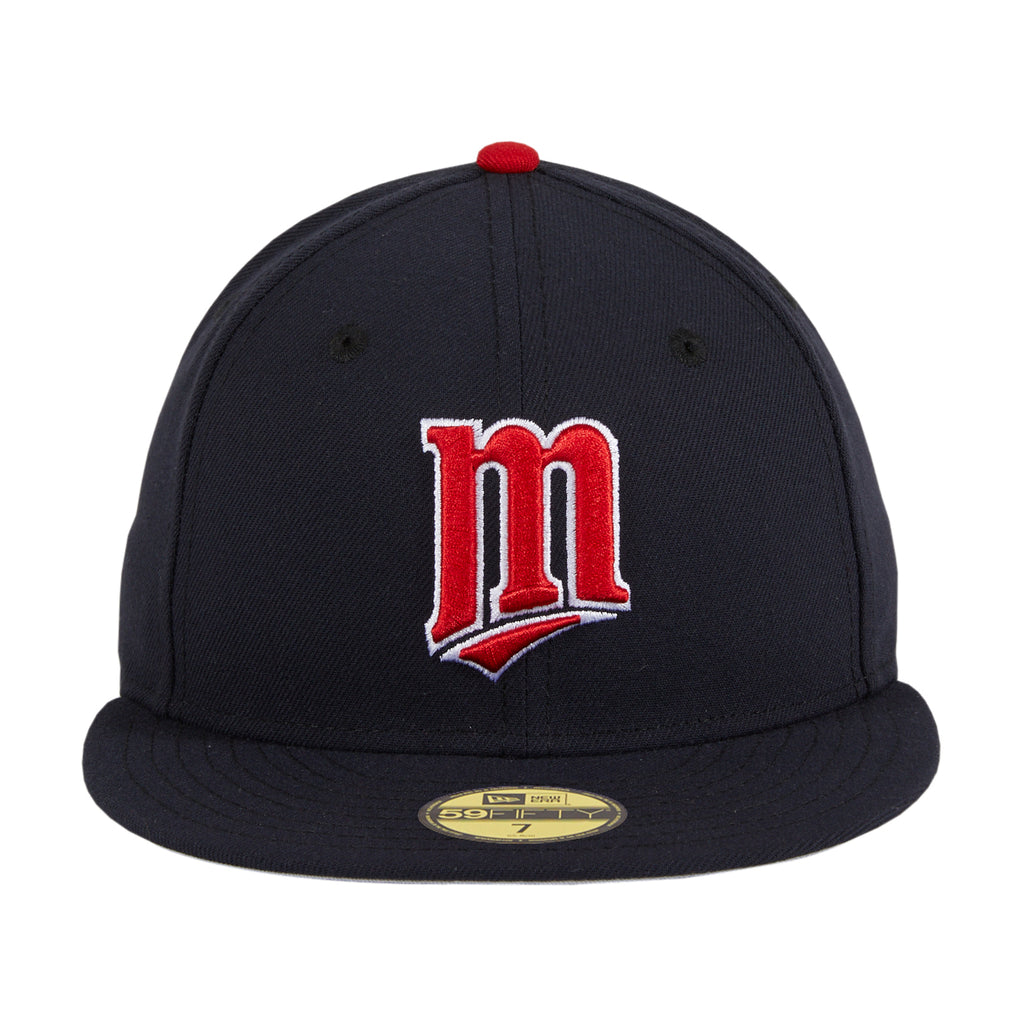 New Era 59Fifty Retro On-Field Minnesota Twins M Hat - Navy