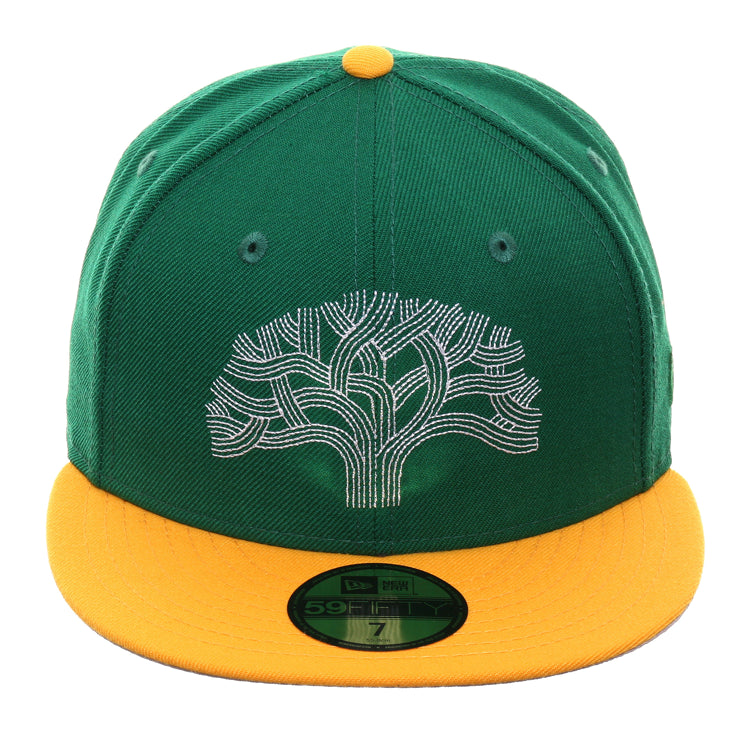 info for de3b7 fbc4b Exclusive New Era 59Fifty Golden State Warriors The Town Tree Hat - 2T – Hat  Club