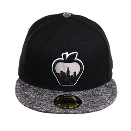 Exclusive 59Fifty French Terry Big Apple SKyline Hat - Black