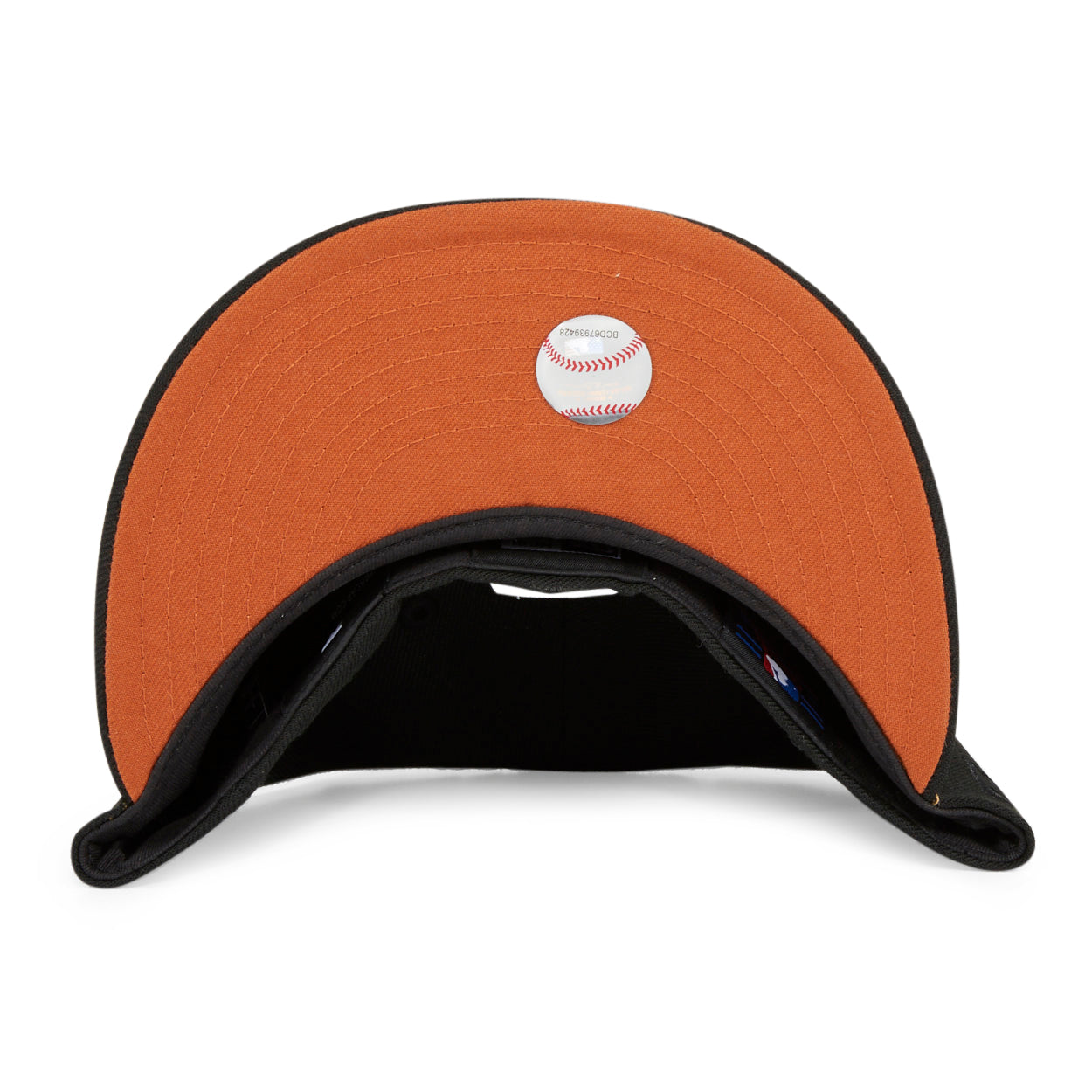 Exclusive New Era 59Fifty New York Yankees Safari Hat - Black, Orange