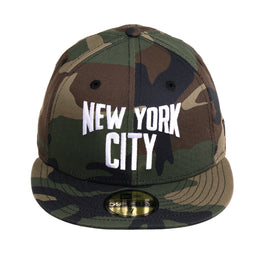 Exclusive 59Fifty New York City Lennon Hat - Camouflage, White