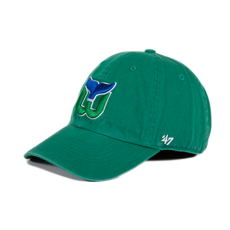 47 Brand Cleanup Hartford Whalers OTC Adjustable Hat - Kelly Green