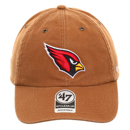 47 Brand Cleanup Arizona Cardinals Carhartt Adjustable Hat - Brown
