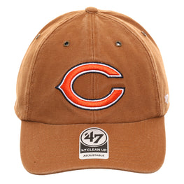47 Brand Cleanup Chicago Bears Carhartt Adjustable Hat - Brown