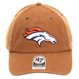 47 Brand Cleanup Denver Broncos Carhartt Adjustable Hat - Brown