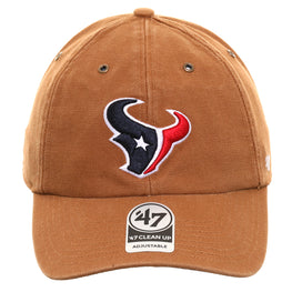 47 Brand Cleanup Houston Texans Carhartt Adjustable Hat - Brown