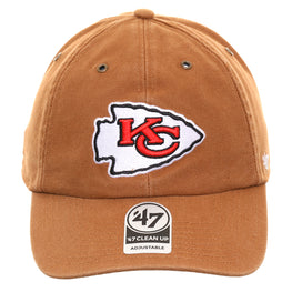 47 Brand Cleanup Kansas City Chiefs Carhartt Adjustable Hat - Brown