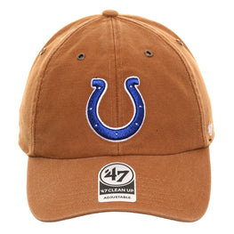 47 Brand Cleanup Indianapolis Colts Carhartt Adjustable Hat - Brown
