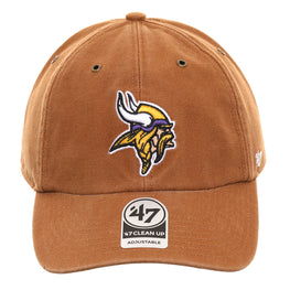 47 Brand Cleanup Minnesota Vikings Carhartt Adjustable Hat - Brown