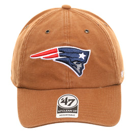 47 Brand Cleanup New England Patriots Carhartt Adjustable Hat - Brown