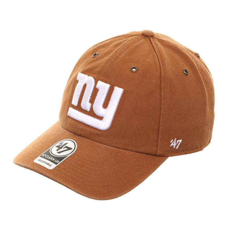47 Brand Cleanup New York Giants Carhartt Adjustable Hat Brown