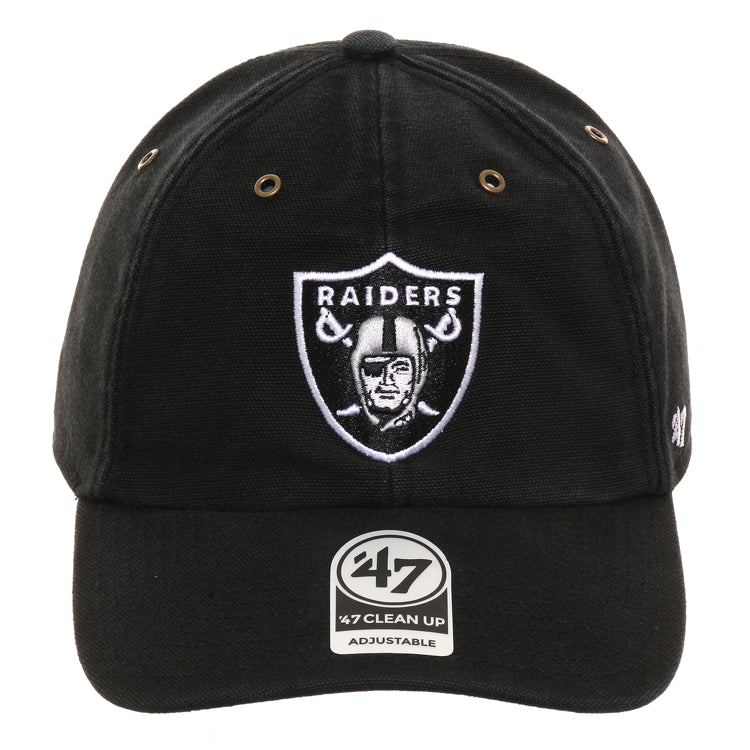 47 Brand Cleanup Oakland Raiders Carhartt Adjustable Hat - Black