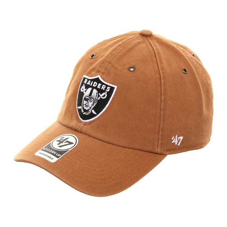 47 Brand Cleanup Oakland Raiders Carhartt Adjustable Hat - Brown