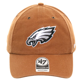 47 Brand Cleanup Philadelphia Eagles Carhartt Adjustable Hat - Brown