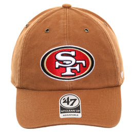 47 Brand Cleanup San Francisco 49ers Carhartt Adjustable Hat - Brown